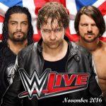 WWE Manchester November 2016
