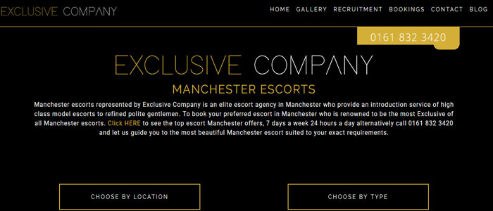 Exclusive Company Escorts